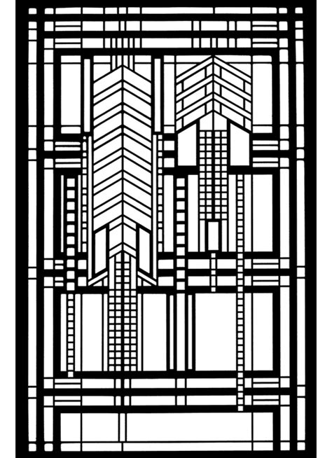 free coloring pages of frank lloyd wright