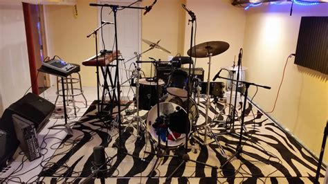 best room mics for drums recording studio live room