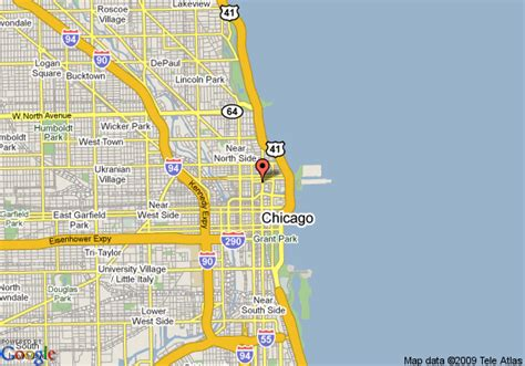 chicago hotel map map of intercontinental chicago chicago