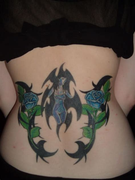 lower back rose tattoo kristine blogs new collection 2011