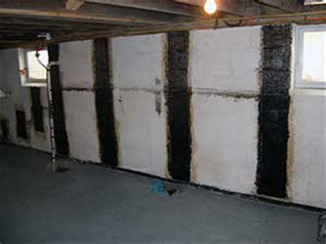 bowed basement wall repair cost hj3 s advanced technologies are the best residential foundation repairhj3 composite technologies