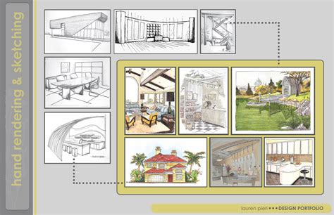 interior design portfolio page layout ideas purdue interior design portfolio lauren pieri archinect