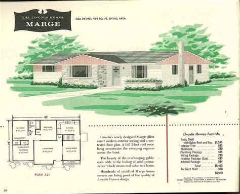 Split Ranch Floor Plans by Factory Built Houses 28 Pages Of Lincoln Homes From 1955 Retro Renovation