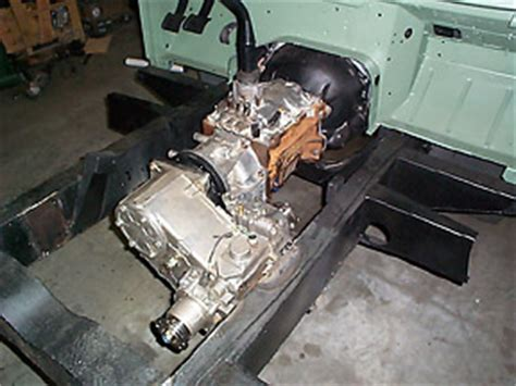 Chevy V8 Into A Series Land Rover 109
