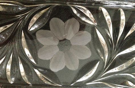 flower pattern glass mckee s innovation glass that was truly ahead of its