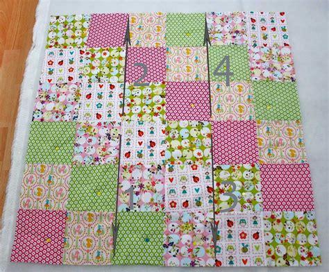 bettdecke patchwork patchworkdecke quilten anleitung wie eine decke n 228 ht