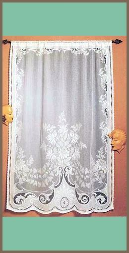 115 inch curtains savoy nottingham lace panel 50 off direct from london