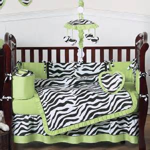 zebra baby bedding lime funky zebra baby bedding 9 pc crib set only 65 00