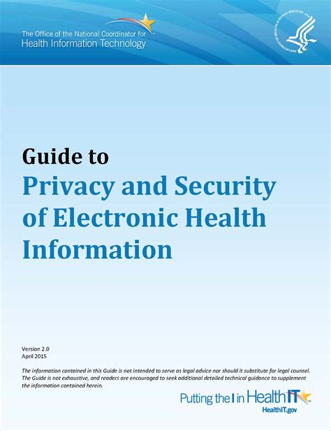 Records Gov Electronic Health Record Privacy And Security A 10 Step Plan Providers