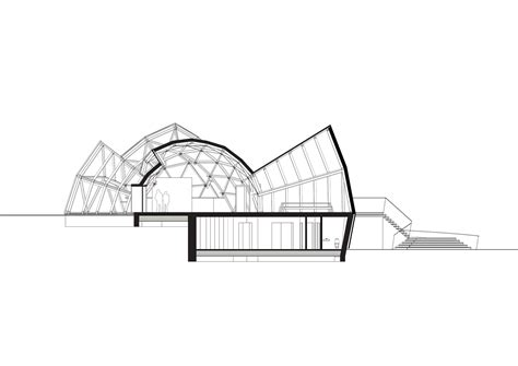 dome section gallery of tejlgaard jepsen transform a temporary