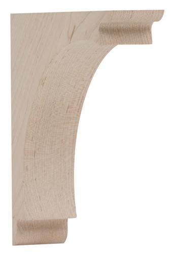 Corbels Menards Waddell Mfg Hardwood Medium Arch Corbel 7 Quot D X 7 Quot H At