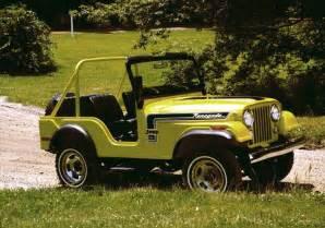 Jeep Cj Years Jeep 174 Heritage 1972 1983 Jeep Cj 5 Renegade The Jeep