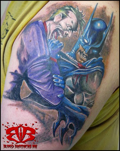 tattoo batman joker batman tattoos joker tattoos