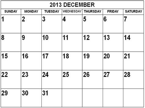 Calendar December 2013 2013 December Calendar Calendars