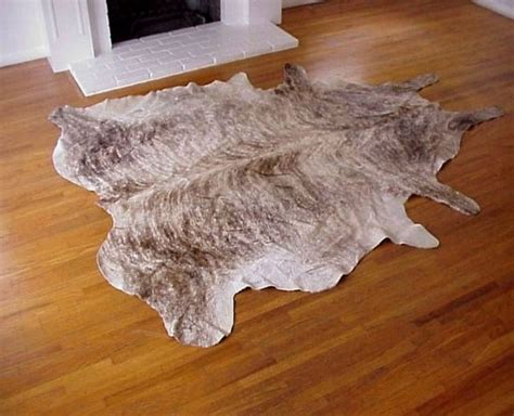 Brindle Cowhide Rug Light Brindle Cowhide Rug Mixed Color Cowhide Rugs