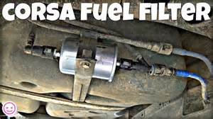 Vauxhall Corsa Fuel Corsa C Fuel Filter Replacement