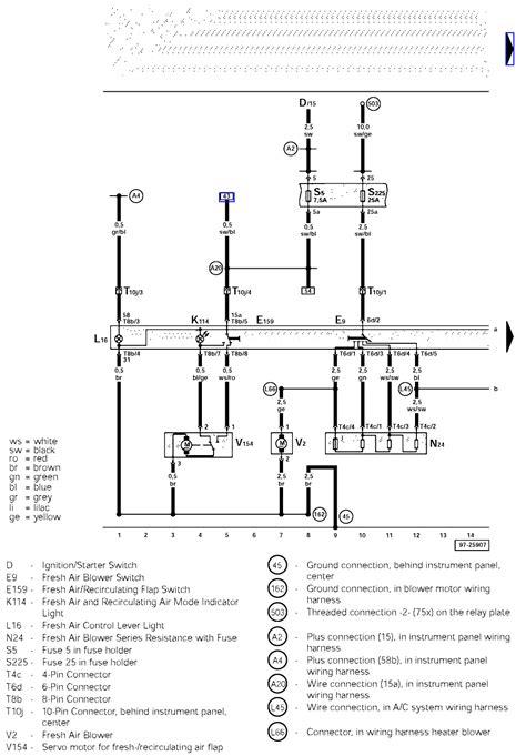 Ac Wiring Diagram Ford Blower Motor Diagram Heat - Wiring