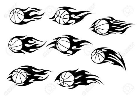tribal basketball tattoos tribal flaming basketball tattoos designs
