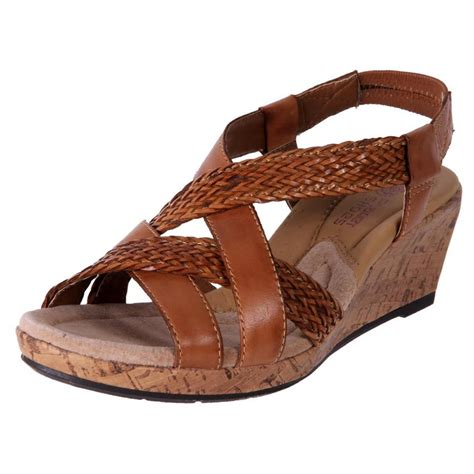 s cheap sandals new planet shoes s leather comfort cushioned wedge