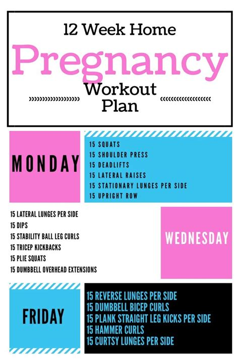 25 best ideas about pregnancy workout plans on