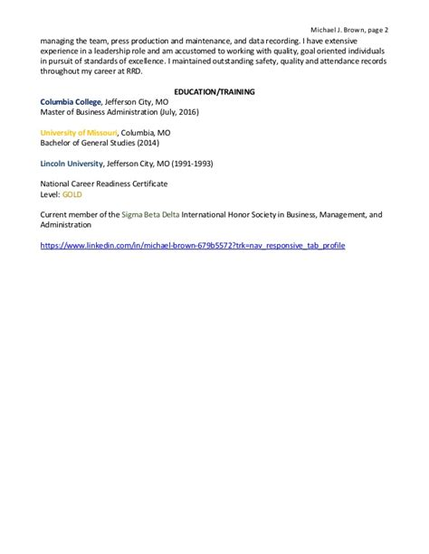 sigma beta delta on resume resume ideas