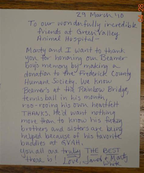appreciation letter to vet appreciation letter to vet 28 images appreciation
