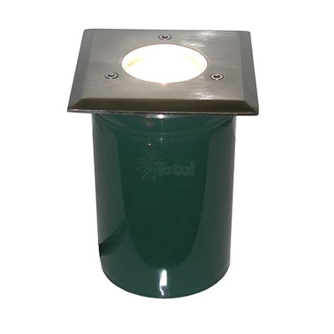 Outdoor Light Cover Outdoor Landscape Lighting Mr16 Pvc Sleeve Square Stainless Steel Cover Well Light