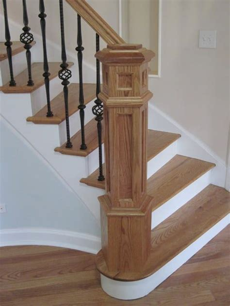 Stair Newel Post 1000 Ideas About Newel Posts On Wrought Iron