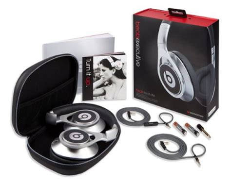 beats by dre executive headphones beats by dr dre executive headphones silver electronics