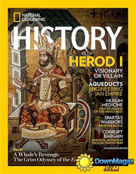 national geographic history november december
