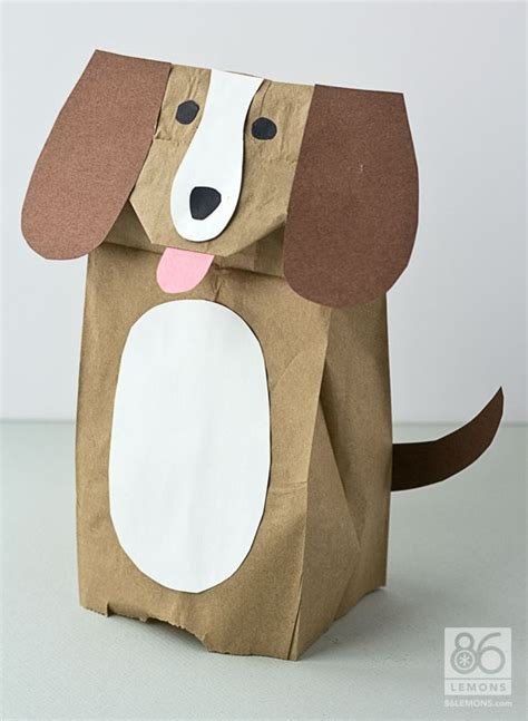 How To Make Puppets Out Of Brown Paper Bags - 25 best ideas about paper bag crafts on paper