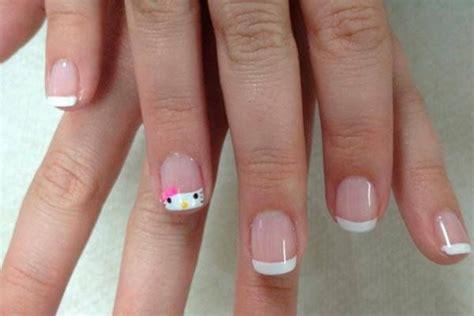 imagenes de uñas pintadas frances pintado de u 209 as para ni 209 as dale clic a la foto para ver