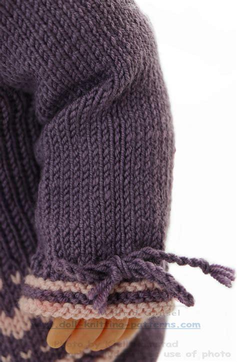 knitting pattern en español modele de poupee en tricot