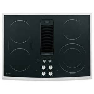 Ceramic Cooktops Reviews Ge Cooktops Profile 30 In Glass Ceramic Downdraft Radiant