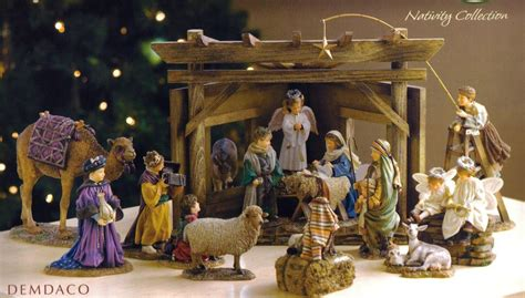 Christmas nativity set christmas devotional experience soul