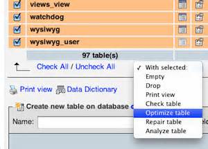 mysql optimize all tables choosing the right web hosting plan for your store