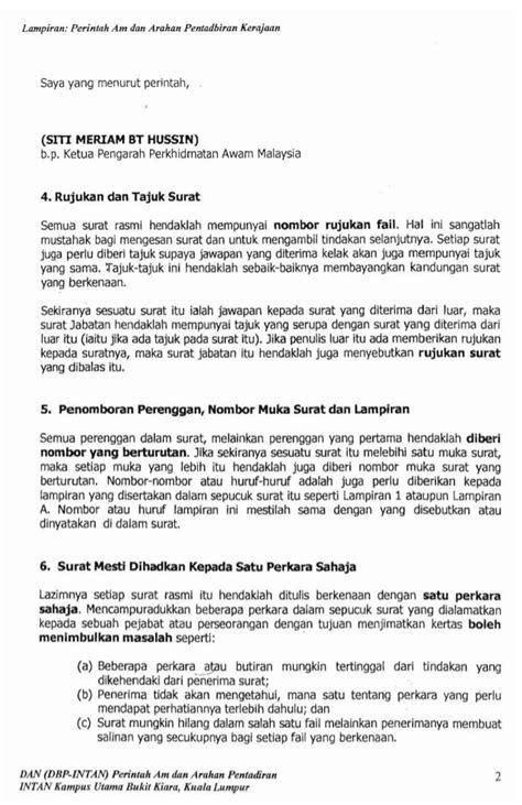 nota surat rasmi