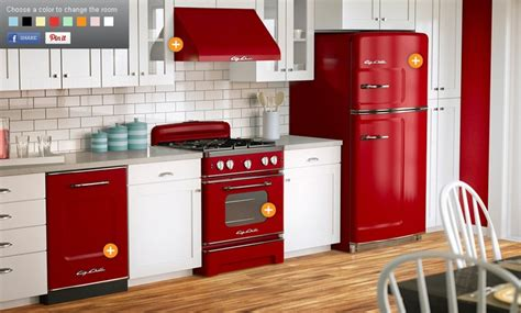 red kitchen appliances red kitchen appliances from big chill smeg pinterest