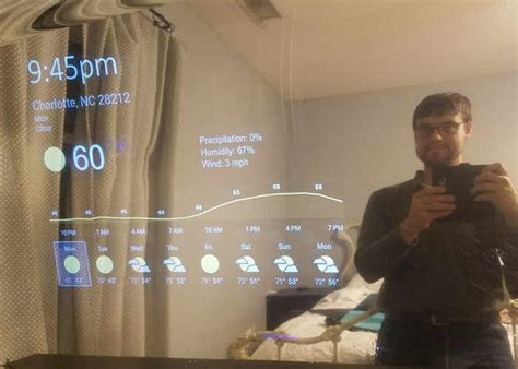 smart tips on where to put mirrors mirrors for dining room diy android things powered smart mirror geeky gadgets