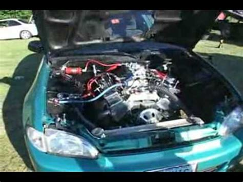 Honda V8 by V8 Engine In A Civic