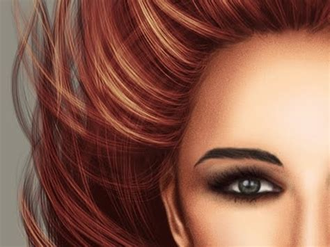 adobe photoshop hair tutorial realistic hair painting tutorial and free brushes new