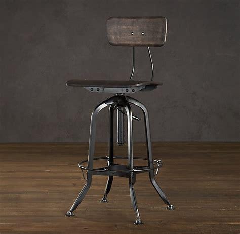 Vintage Toledo Bar Stool by Vintage Toledo Chair Distressed Black The Hub S New