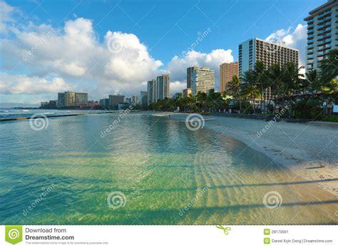 Waikiki In The Morning by Waikiki Morning Stock Image Image 28170561