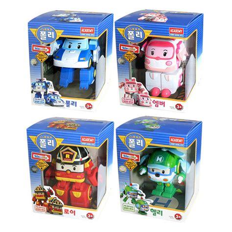 Mainan Mini Tobot Series 4pcs Tobot X W Y Z robocar poli 4 pcs set poli roy helly 4 7 quot transformer robot vehicle car figure