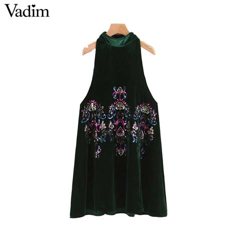 aliexpress vadim aliexpress com buy vadim women sexy sequined velvet