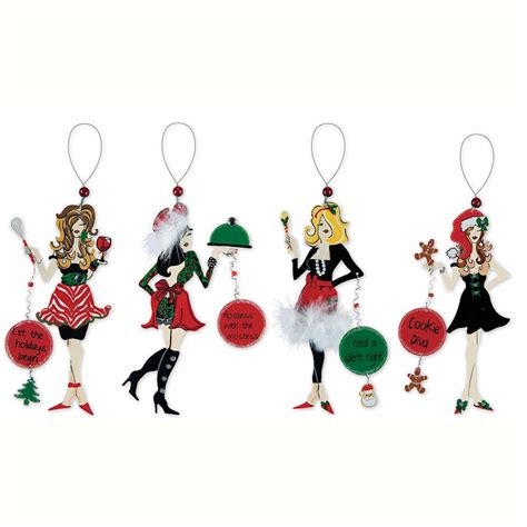 holiday cookie chefs ornament happy holidayware