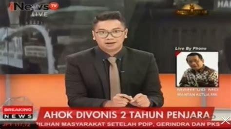 vonis 2 tahun untuk ahok liputan 6 siang vidio com vonis 2 tahun ahok mahfud md putusan hakim telah tepat