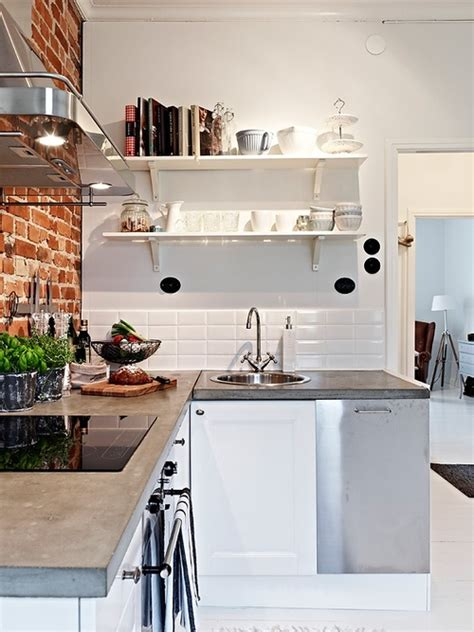 interior design kitchens 2014 small kitchen great solution via interior inspirations