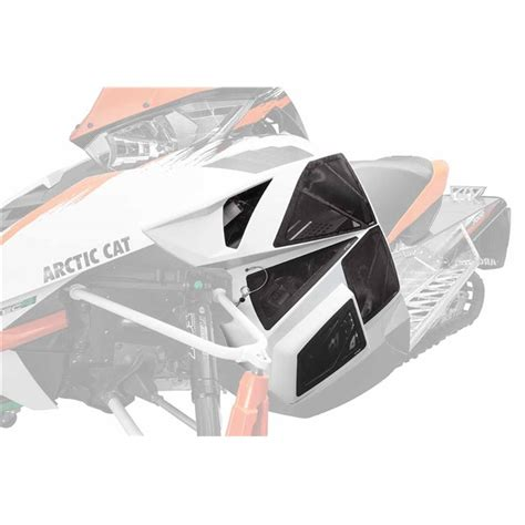 arctic cat parts house vented side panels babbitts arctic cat parts house