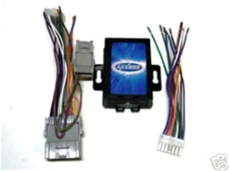 metra gmos  radio replacement wire harness wnav output